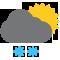 Durante la prima parte della giornata Poco nuvoloso con nevicate tendente nella seconda parte della giornata Sereno